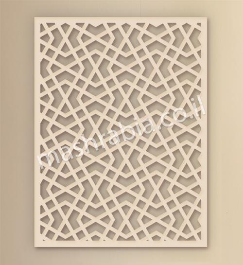 קיר משרביה מעץ